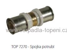 Toptherm TOP 7270B - press spojka potrubí 18 mm